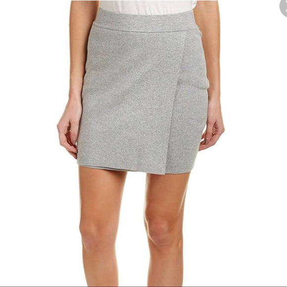 BCBGeneration Dresses & Skirts - BCBGeneration Grey sweater Mini Skirt